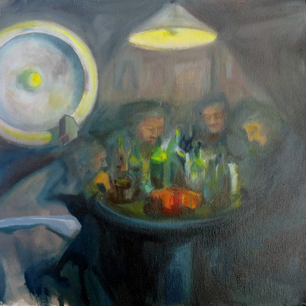 The night when the light went off_25x25cm_oil_on_canvas_2020