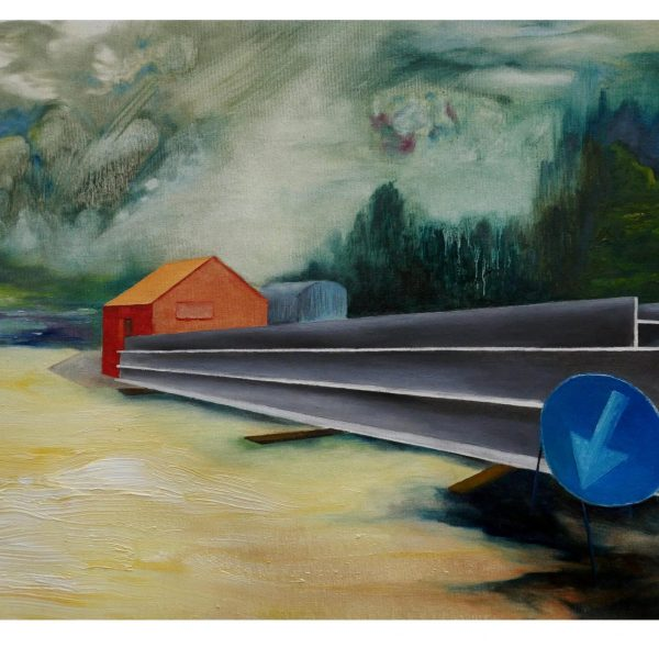 Ver(r)Eisen_2019_50x40cm_oil on canvas