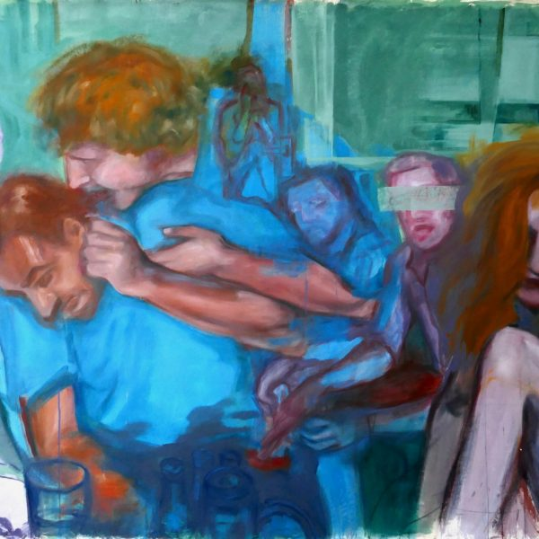 blurred memories III, 260x180cm, oil on canvas