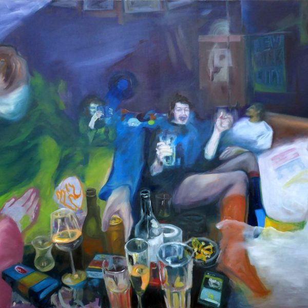 blurred memories I, 160x120 cm, oil on canvas